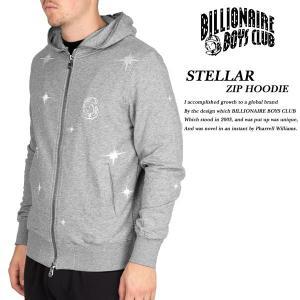 BILLIONAIRE BOYS CLUB STELLAR ZIP HOODIE HEATHER GRAY スティーラー ジップ パーカー ヘザーグレー 灰|archrival
