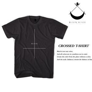 Black Scale CROSSED T-SHIRT BLACK ブラックスケール|archrival