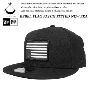 Black Scale TREBEL FLAG PATCH FITTED NEW ERA CAP BLACK ブラックスケール|archrival