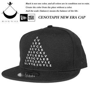 Black Scale CENOTAPH NEW ERA CAP ブラックスケール|archrival