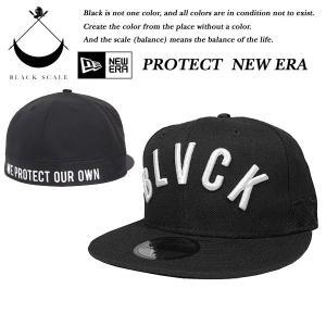 Black Scale PROTECT NEW ERA CAP BLACK ブラックスケール|archrival