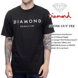 DIAMOND SUPPLY CO STONE CUT TEE BLACK ダイヤモンドサプライ|archrival