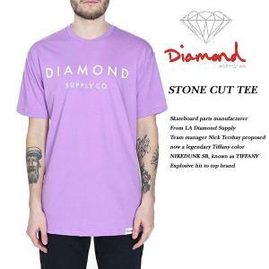 DIAMOND SUPPLY CO STONE CUT TEE LAVENDER ダイヤモンドサプライ|archrival