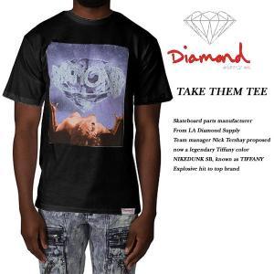 DIAMOND SUPPLY CO TAKE THEM TEE BLACK ダイヤモンドサプライ|archrival