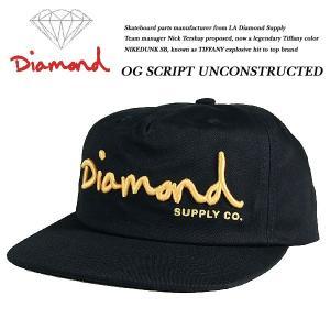 OG SCRIPT UNCONSTRUCTED SNAPBACK CAP BLACK|archrival