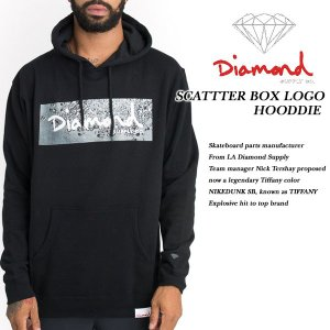 SCATTER BOX LOGO HOODIE BLACK|archrival