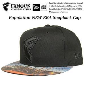 Famous Stars & Straps Population NEW ERA Snapback Cap ポピュレーション ニューエラ スナップバック キャップ フェイマス|archrival