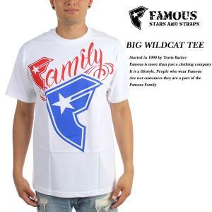 FAMOUS SAS BIG WILDCAT TEE WHITE|archrival