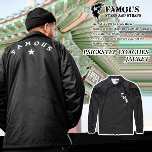 Famous Stars & Straps SICKSTEP COACHES JACKET コーチ ジャケット フェイマス|archrival