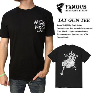 FAMOUS TAT GUN TEE BLACK|archrival