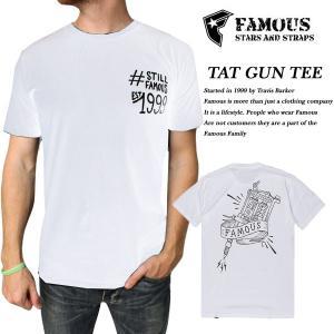 FAMOUS TAT GUN TEE WHITE|archrival