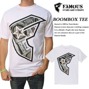 FAMOUS BOOMBOX BOH TEE WHITE|archrival