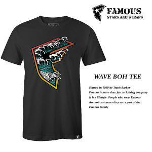 FAMOUS SAS WAVE BOH TEE BLACK|archrival