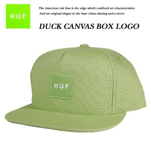 DUCK CANVAS BOX LOGO SNAP BACK CAP AVOCADO|archrival