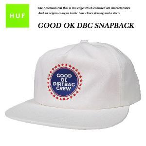HUF GOOD OL DBC SNAP BACK CAP WHITE  スナップバック キャップ ホワイト 白 ハフ|archrival