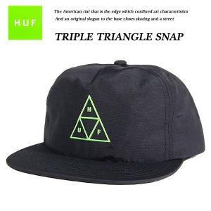 TRIPLE TRIANGLE SNAPBACK BLACK|archrival