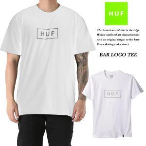 HUF BAR LOGO TEE WHITE|archrival
