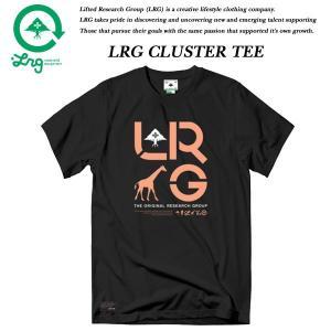 LRG CLUSTER TEE BLACK エルアールジー|archrival