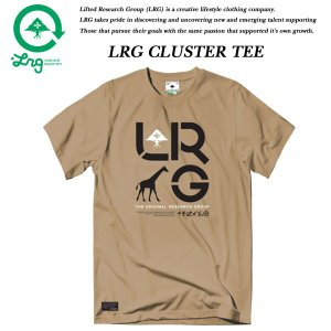 LRG CLUSTER TEE LATTE エルアールジー|archrival