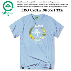 LRG CYCLE BRUSH TEE DUSK BLUE エルアールジー|archrival