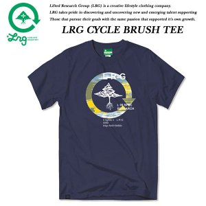 LRG CYCLE BRUSH TEE NAVY BLUE エルアールジー|archrival