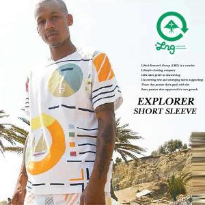 LRG EXPLORER SHORT SLEEVE WHITE エキスプローラー 半袖 Tシャツ ホワイト 白 エルアールジー|archrival