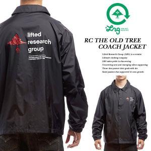 LRG RC THE OLD TREE COACH JACKET リサーチ コレクション ザ オールド ツリー コーチ ジャケット エルアールジー archrival