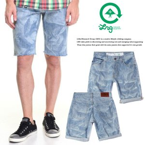 LRG TS FIT LIQUID INDIGO SHORTS|archrival