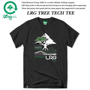 LRG TREE TECH TEE BLACK エルアールジー|archrival