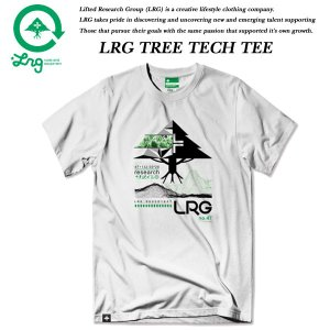 LRG TREE TECH TEE WHITE エルアールジー|archrival