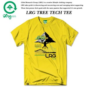 LRG TREE TECH TEE YELLOW エルアールジー|archrival