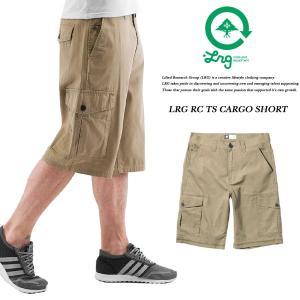LRG RC TS CARGO SHORT KHAKI カーゴショーツ カーキ ベージュ エルアールジー|archrival