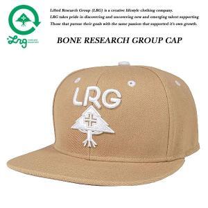 LRG BONE RESEARCH GROUP SNAP BACK CAP KHAKI ボーン リサーチ グループ スナップバック キャップ カーキ ベージュ エルアールジー|archrival
