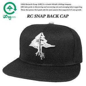 LRG RC SNAP BACK CAP BLACK リサーチ コレクション スナップバック キャップ ブラック 黒 エルアールジー|archrival