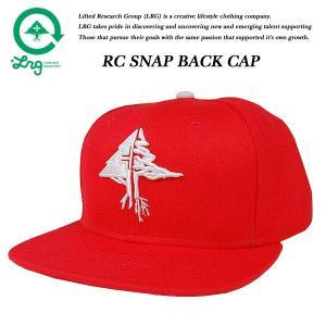 LRG RC SNAP BACK CAP RED リサーチ コレクション スナップバック キャップ レッド 赤 エルアールジー|archrival