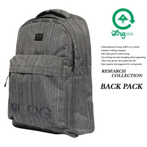 LRG RESEARCH COLLECTION BACK PACK BLACK HEATHER エルアールジー|archrival