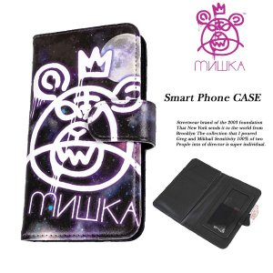 Mishka SMART PHONE CASE GALAXY スマートフォン ケース ギャラクシー ミシカ|archrival