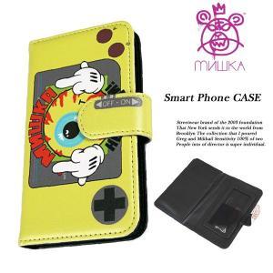 Mishka SMART PHONE CASE SMILY スマートフォン ケース スマイリー ミシカ|archrival