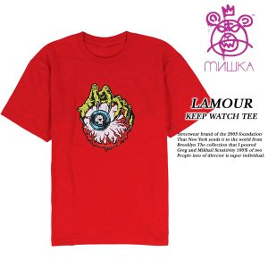 LAMOUR KEEP WATCH TEE RED|archrival