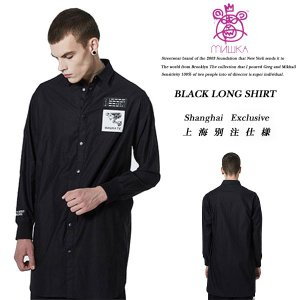 BLACK LONG SHIRT|archrival