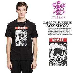 LAMOUR SUPREME BOX SIMON TEE BLACK archrival