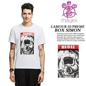 LAMOUR SUPREME BOX SIMON TEE WHITE archrival