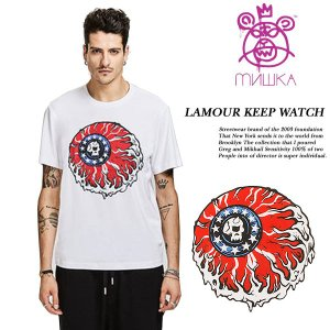 LAMOUR KEEP WATCH TEE WHITE|archrival