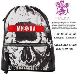 MISHKA SKULL ALL OVER BACKPACK 上海別注モデル バック パック ミシカ|archrival