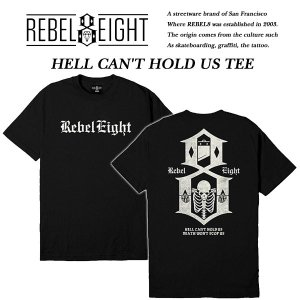 REBEL8 HELL CAN'T HOLD US BLACK|archrival