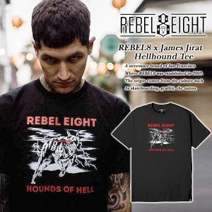 REBEL8 x James Jirat Hellhound TEE|archrival