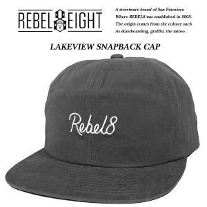 REBEL8 LAKEVIEW SNAPBACK CAP レイクビュー スナップバック キャップ レベルエイト|archrival