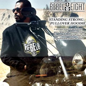 Rebel8 STANDING STRONG PULLOVER HOODIE スタンディング ストロング プルオーバー パーカー レベルエイト archrival