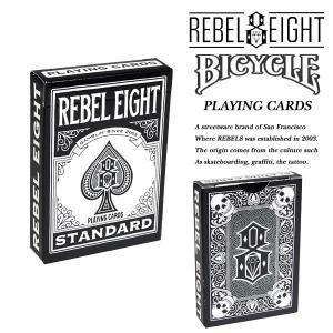 Rebel8BICYCLE PLAYING CARDS バイスクル プレイング カード トランプ レベルエイト archrival