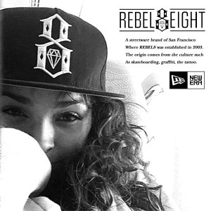 Rebel8 STANDARD ISSUE LOGO NEW ERA CAP BLACK スタンダード イシュー ロゴ ニューエラ キャップ ブラック 黒 レベルエイト|archrival